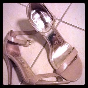 Tan colored sandals size 10